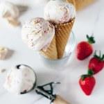 Vegan Eton Mess Ice Cream