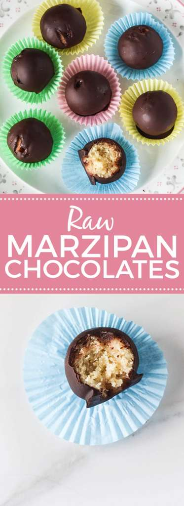 Raw Marzipan Chocolates