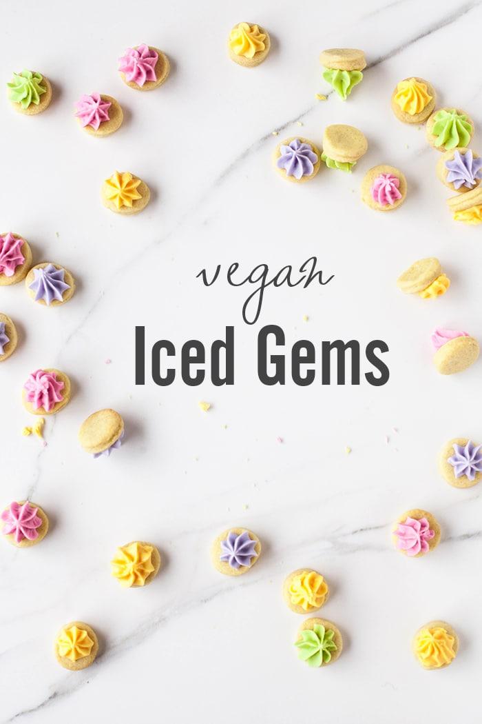 Homemade Iced Gems! #vegan with a #glutenfree option   Wallflowergirl.co.uk