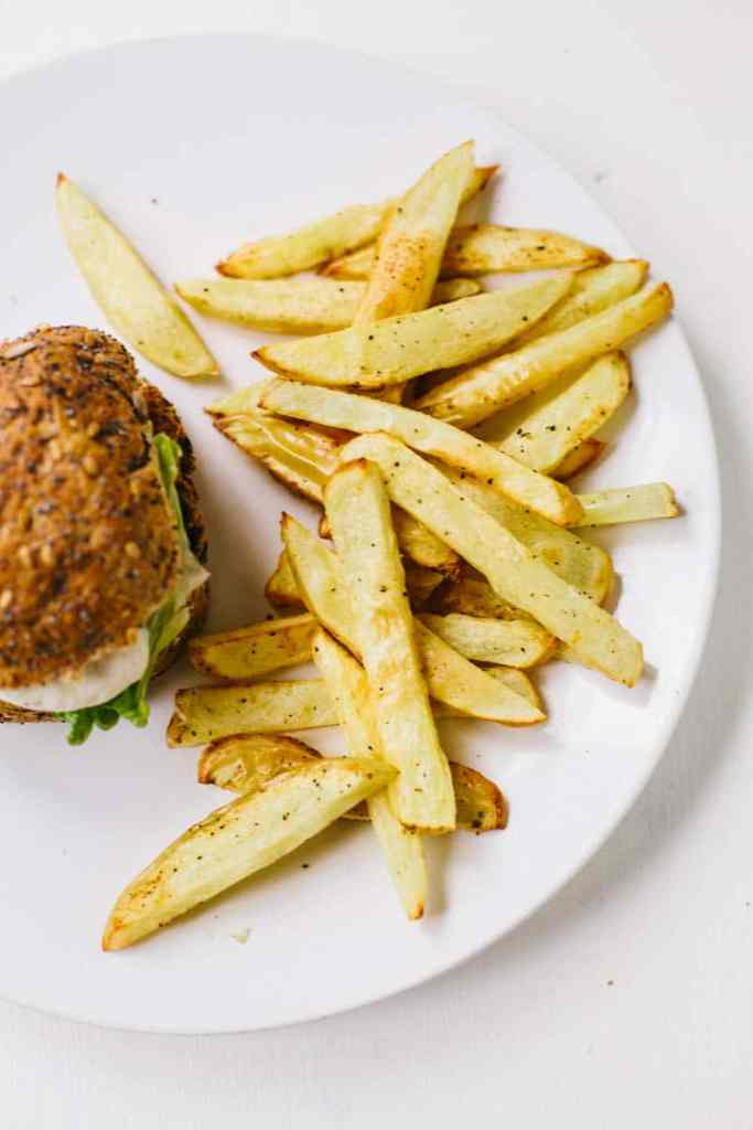 Fat-free Fries #vegan #hclf