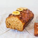 Salted Caramel Banana Loaf