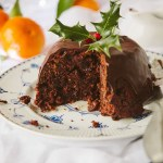 Chocolate Orange Christmas Pudding (Vegan)