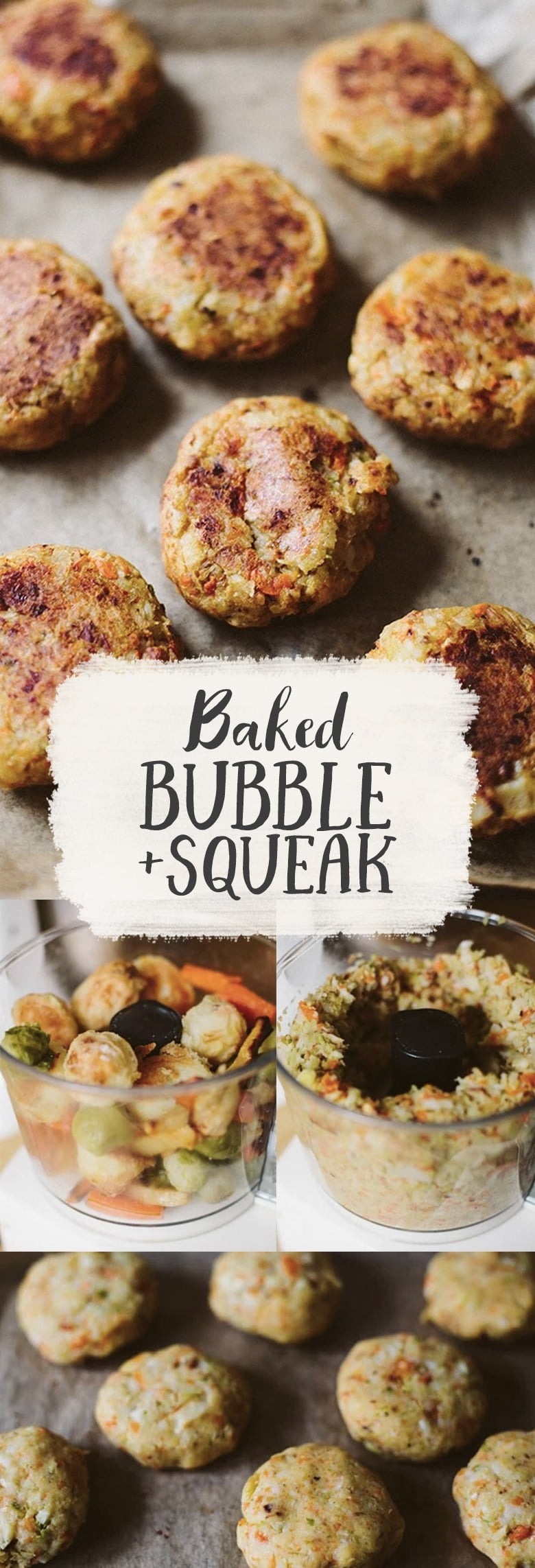 Baked Bubble & Squeak Cakes