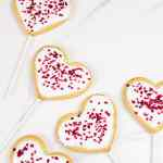 Vegan Valentines Day Cookie Pops