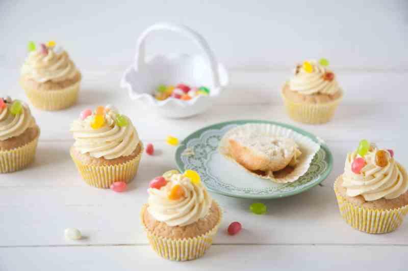 Vegan Easter Lemon Cupcakes