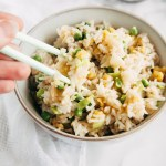 "Vegan ""Egg"" Fried Rice"