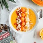Tropical Fruit Smoothie Bowl from 'Superfood Breakfasts' + Giveaway!