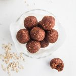 Raw Chocolate Brownie Bites (No Nuts!)