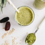 Pineapple & Matcha Oat Smoothie (Vegan + GF)