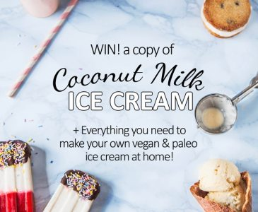 'Coconut Milk Ice Cream' 2 Year Anniversary Giveaway!