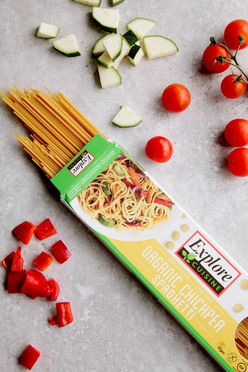 One-Pot Ratatouille Spaghetti (Vegan + GF)