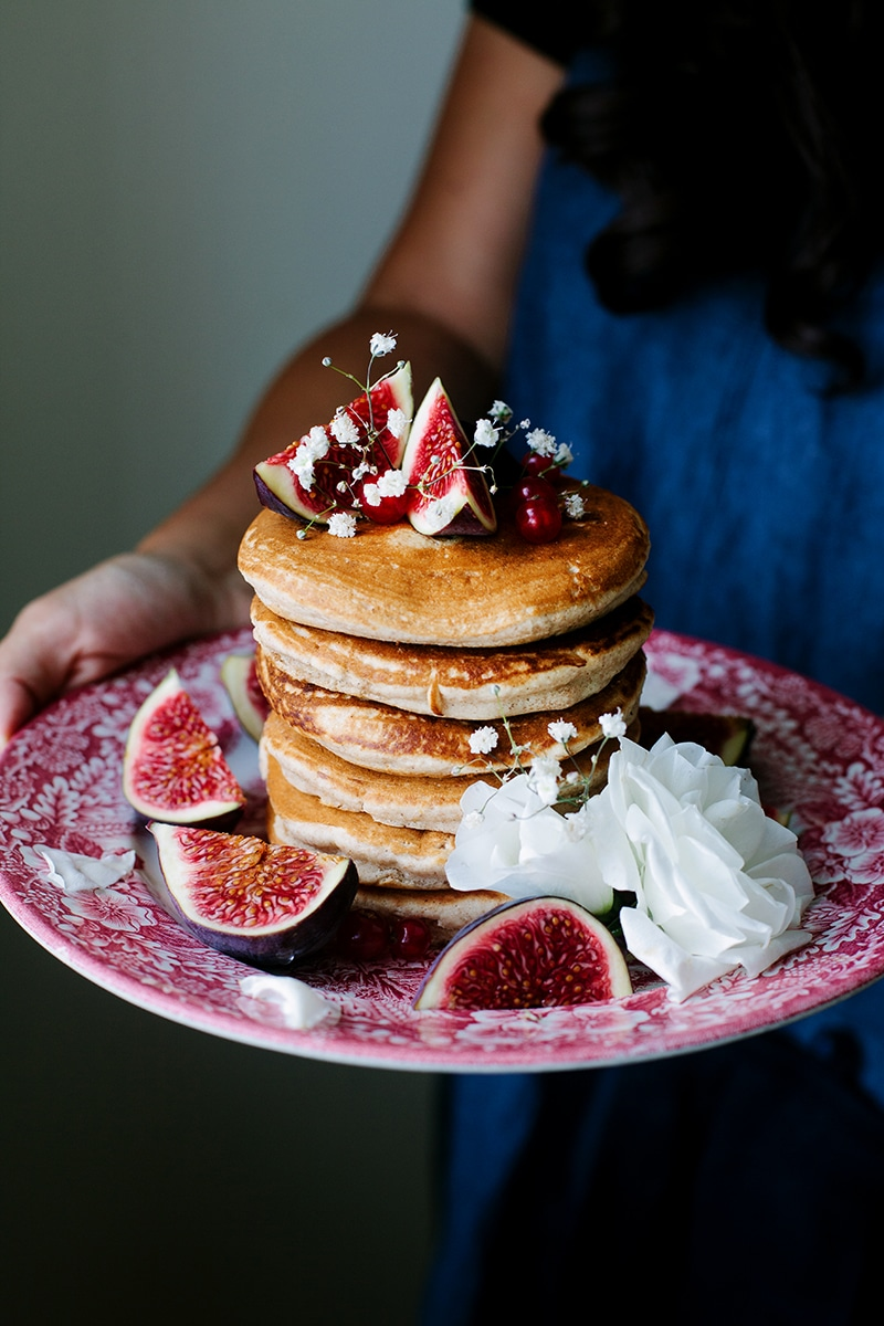 The fluffiest vegan pancakes wallflower kitchen the fluffiest vegan pancakes ccuart Images