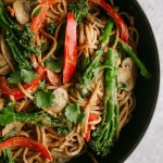 Spicy Tenderstem Noodle Stir Fry