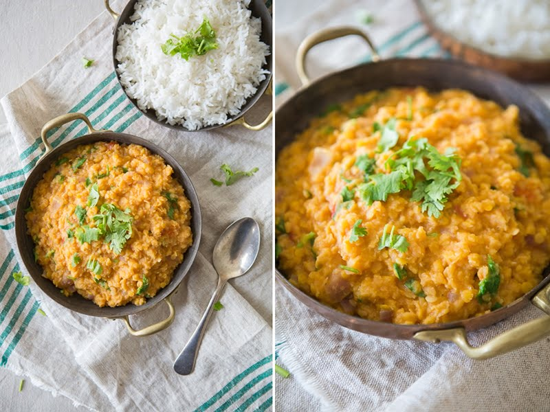 Coconut Red Lentil Dahl
