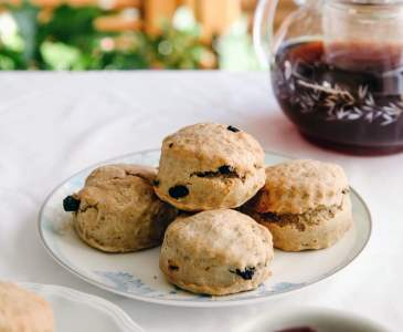 Vegan Fruit Scones