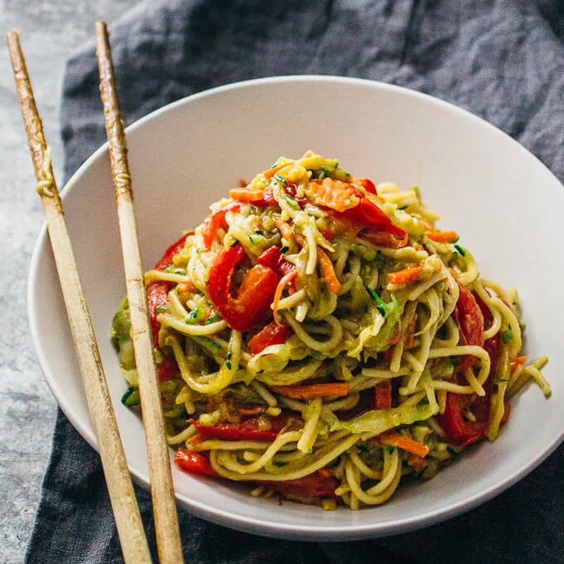 Vegetable Chow Mein Noodles