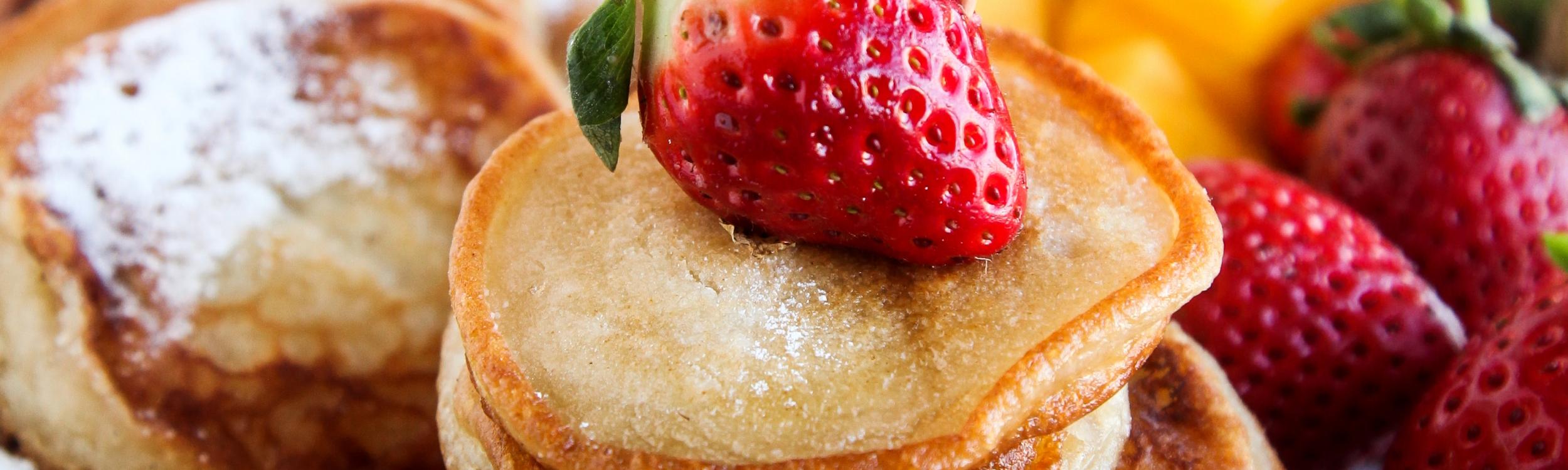 Mini Canarian Pancakes (Vegan)
