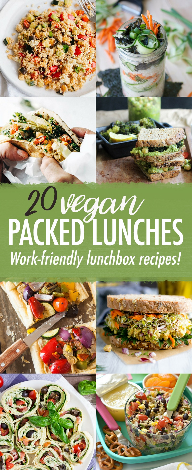 20 Vegan Packed Lunch Recipes Wallflower Kitchen