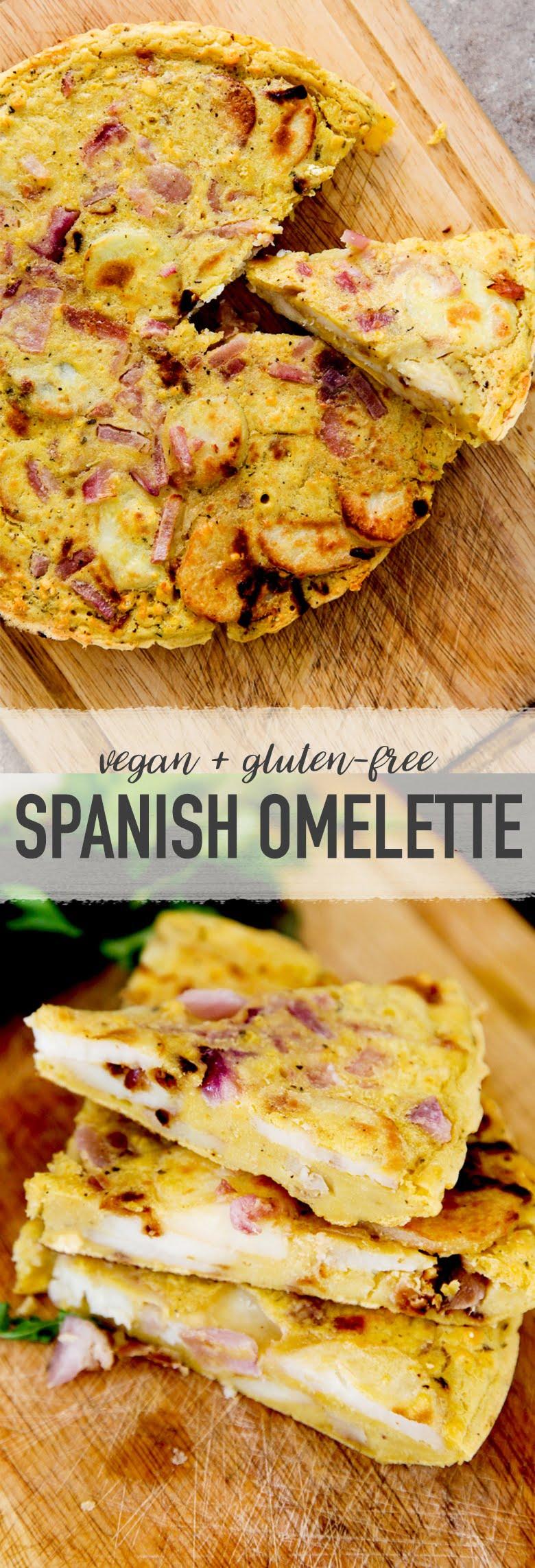 Spanish Omelette (Vegan + GF)