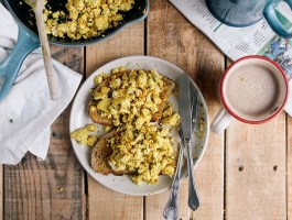 "Tofu Breakfast Scramble (aka Vegan Scrambled ""Eggs"")"
