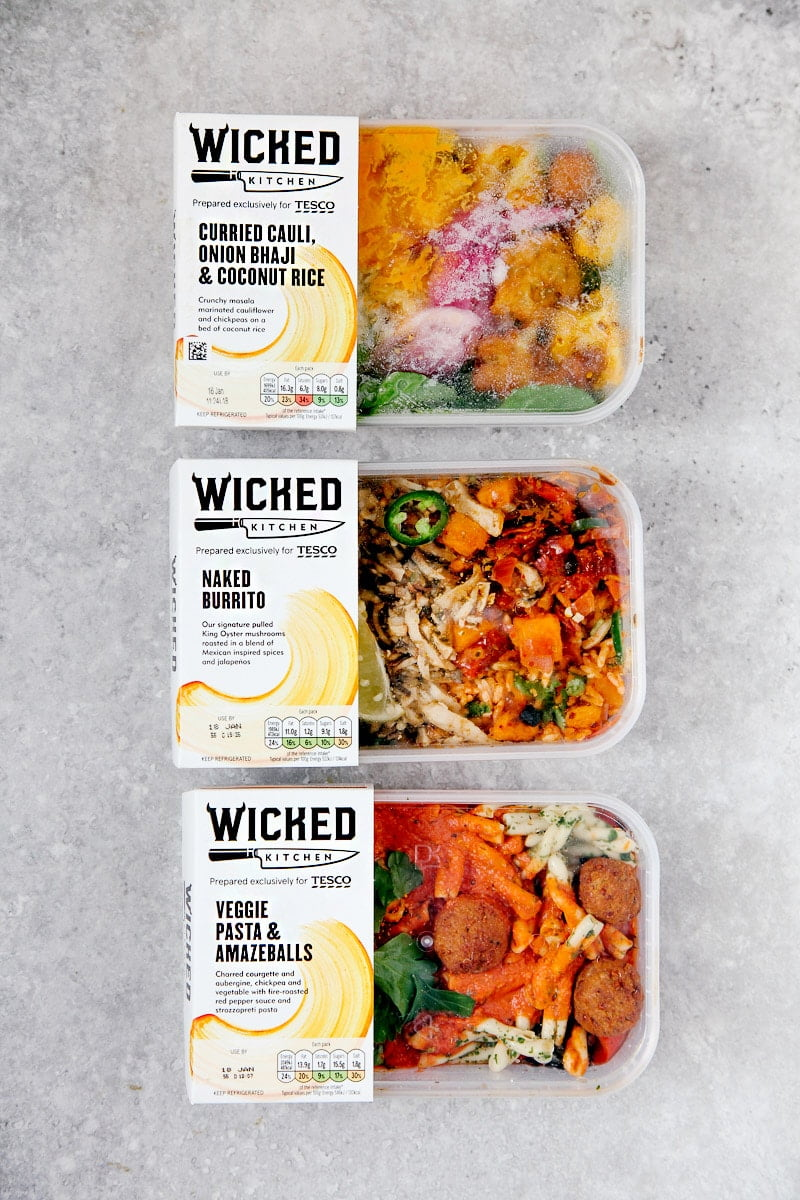 tescos new wicked kitchen vegan - Wicked Kitchen