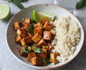 Sweet & Spicy Tofu