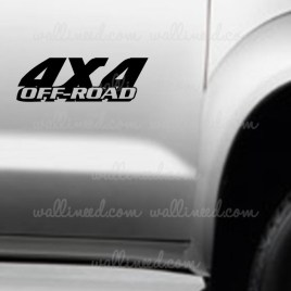 4x4 off road decal
