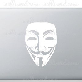 Anonymous Logo laptop sticker