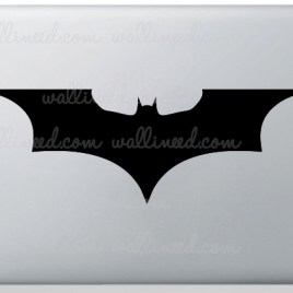 the dark knight laptop stcker