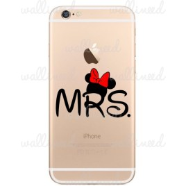iphone 6 sticker Mrs Minnie Mouse