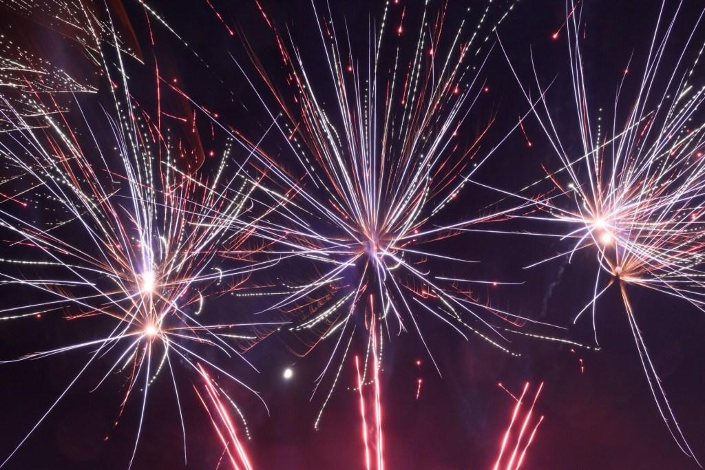 Wallingford Fireworks 2017