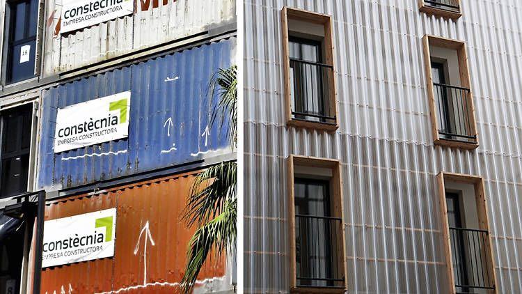 Construcción y arquitectura sostenible, gracias a contenedores reciclados