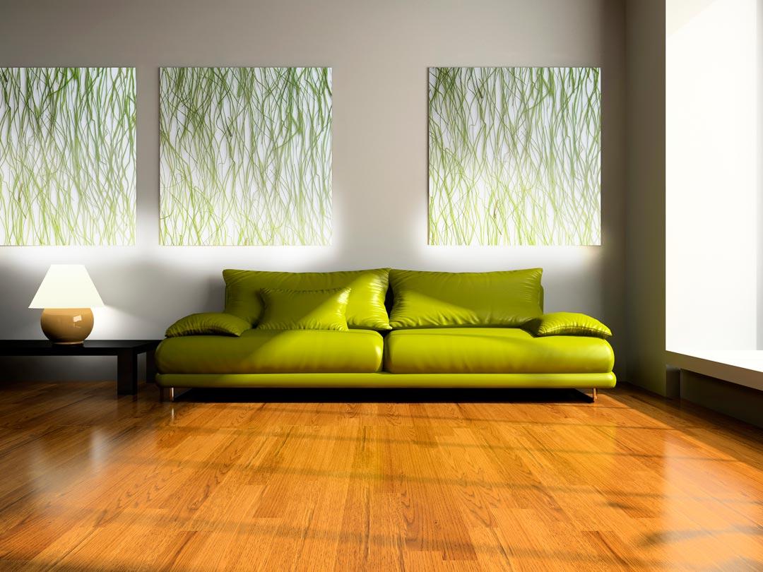 Diferentes estilos para crear espacios con láminas decorativas