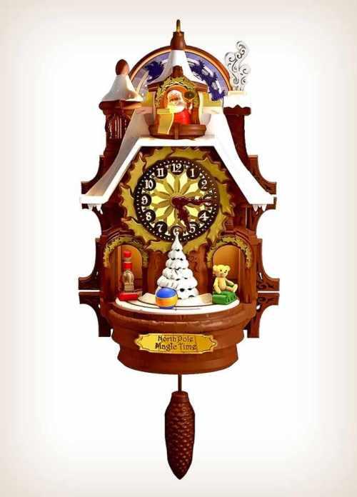 Hallmark Santa's Magic Cuckoo Clock QGO1367