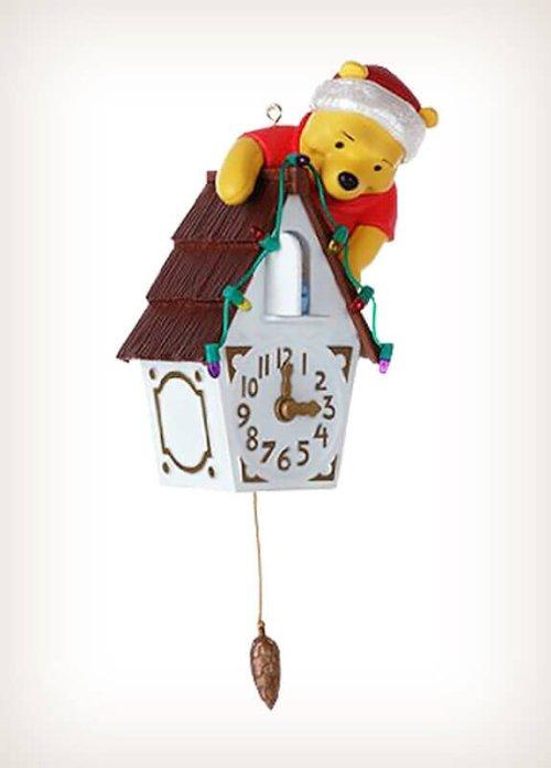 Winnie The Pooh Pooh-Koo Clock QXD1031 Hallmark