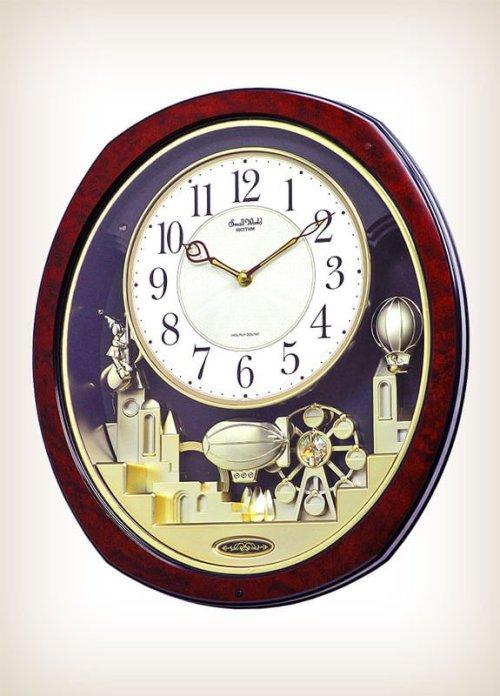 Joyful Land by Rhythm Clocks - Model 4MH850WD23Musical Motion Clock
