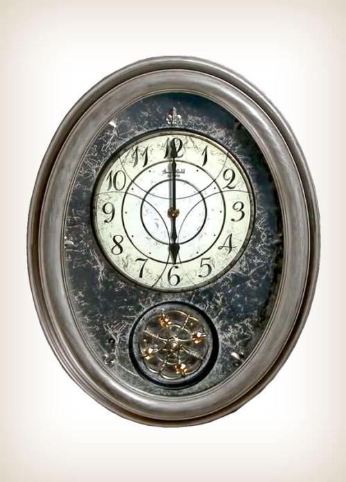 Royal Brilliance Rhythm Clock 4MH857WU02