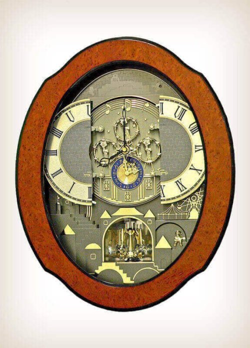 Timecracker Ultra II Rhythm Clock 4MH864WU06