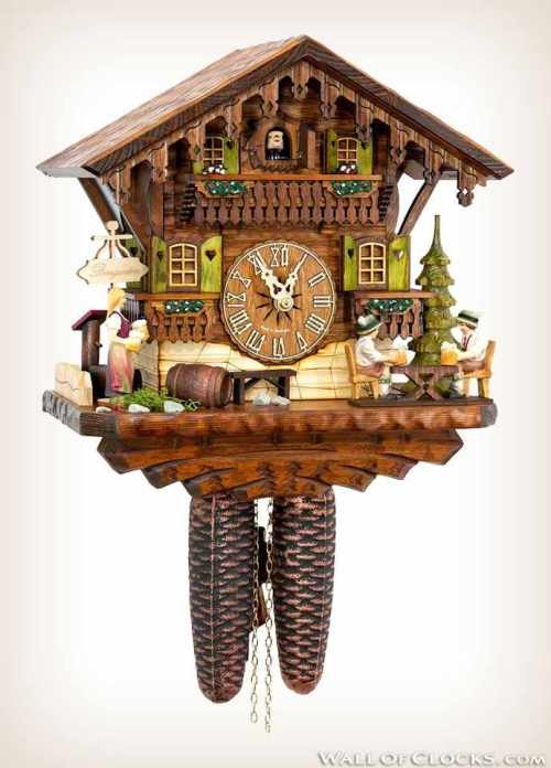 Hekas 884 EX Beer Garden Cuckoo Clock 1