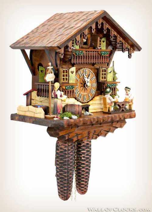 Hekas 884 EX Beer Garden Cuckoo Clock 2