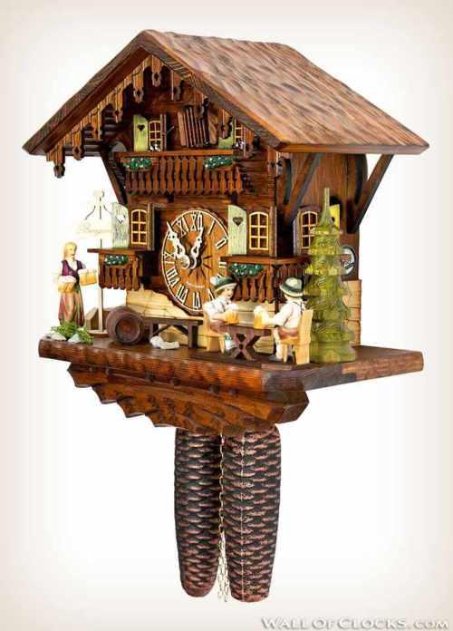 Hekas 884 EX Beer Garden Cuckoo Clock 3