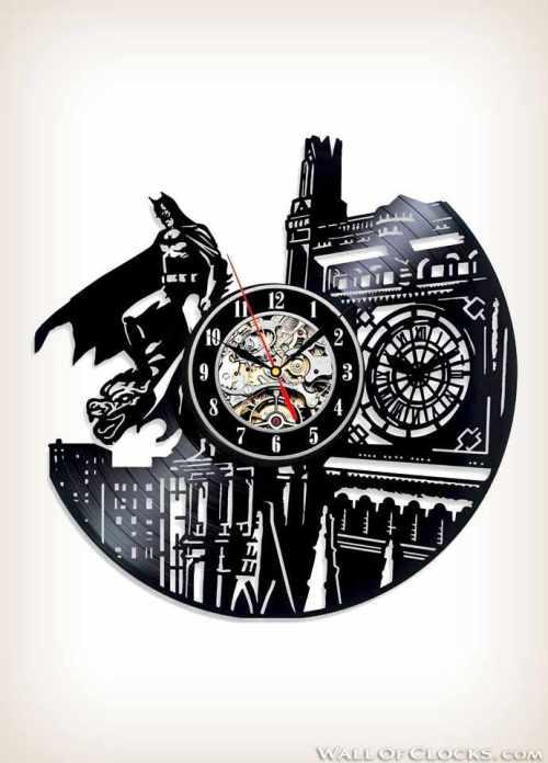 Batman Dark Knight Vinyl Clock