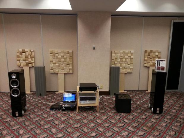 bc acoustique's laptop-driven system