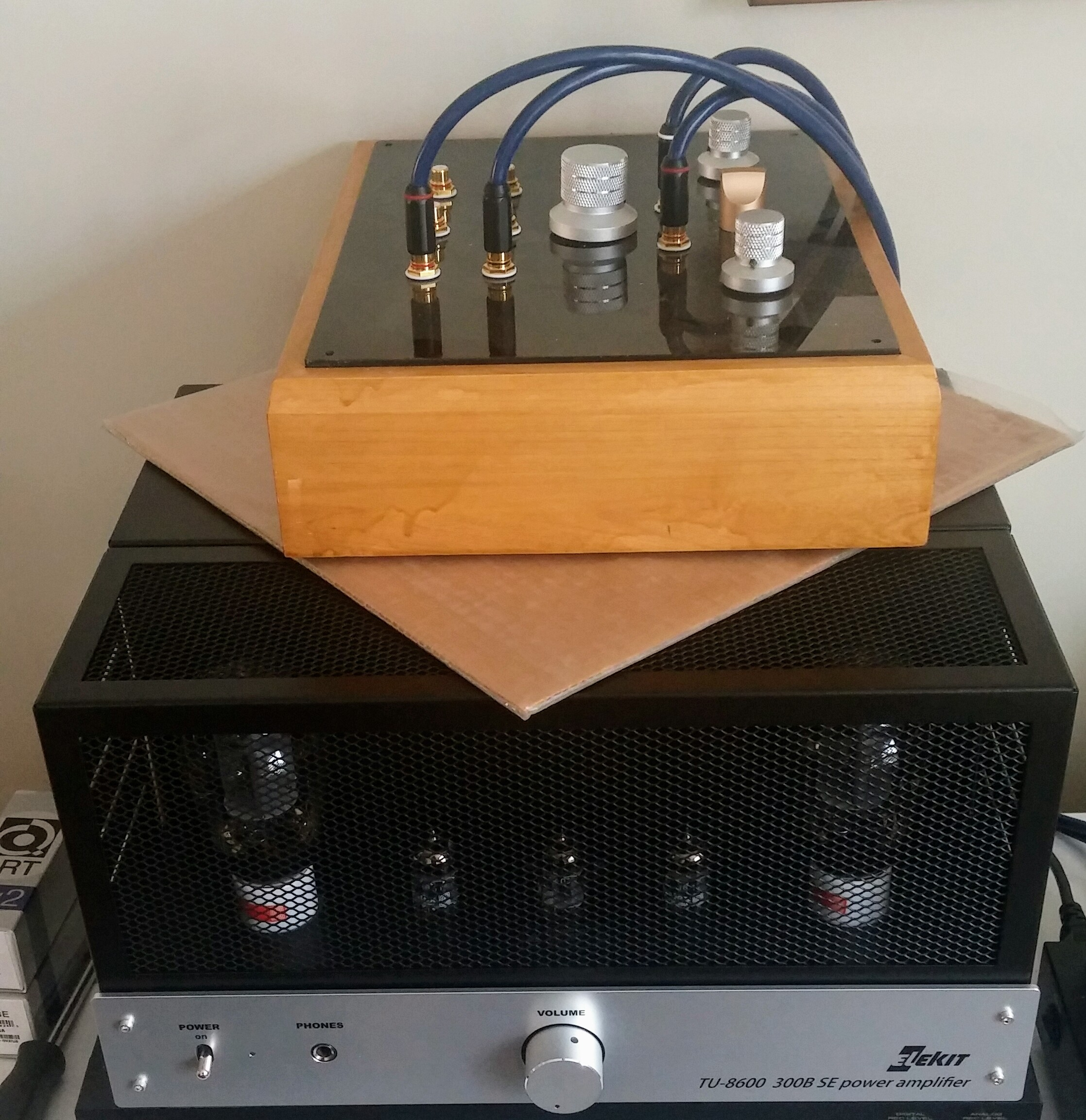 Review: Elekit TU8600 Single-Ended 300B Amp (Part 1) | Wall