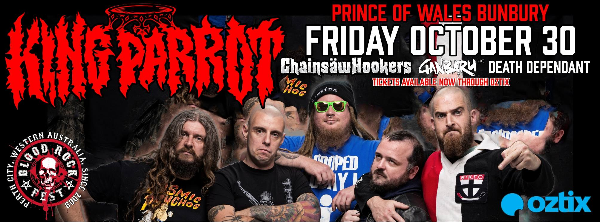 2 more bands added to Perth's Blood Rock Festival! – Wall Of