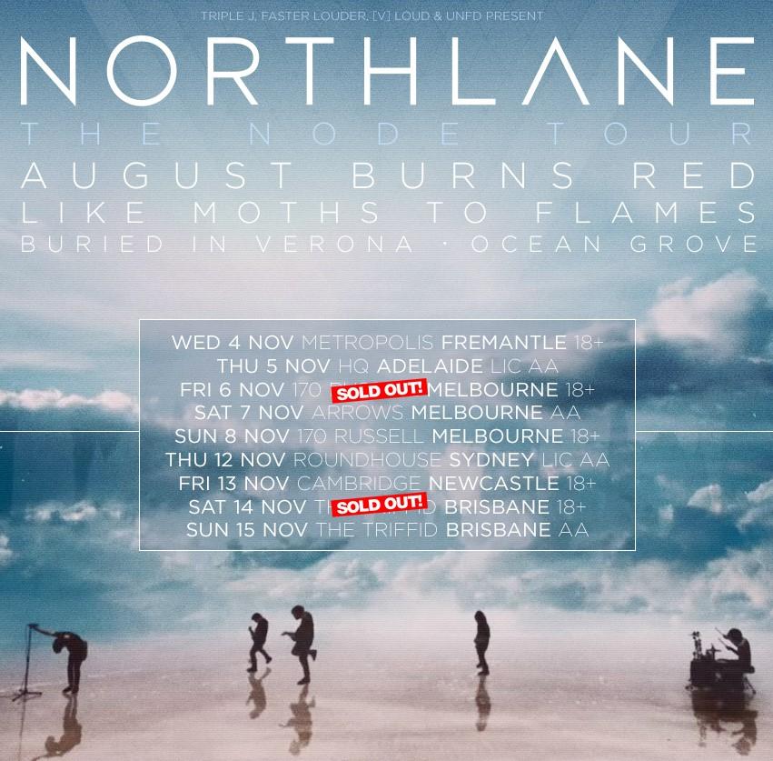 northlane tour