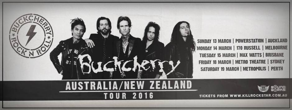 buckcherry aus tour