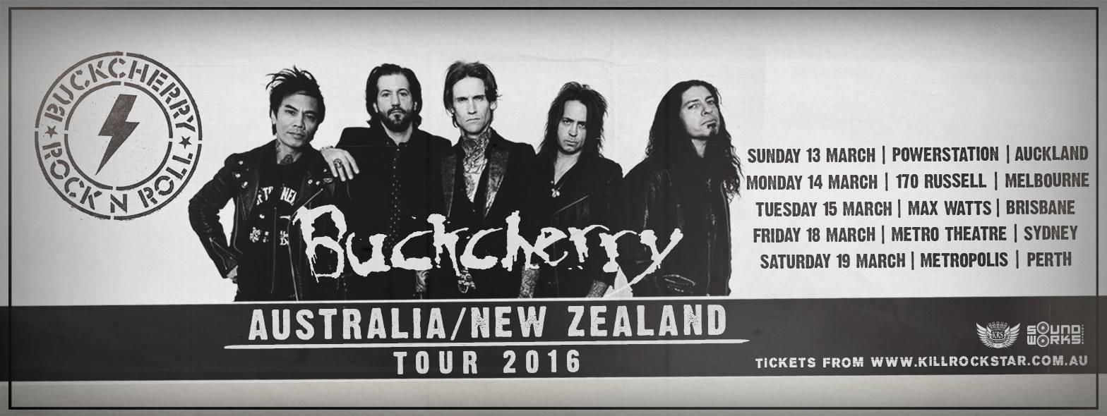 Buckcherry Australian Tour
