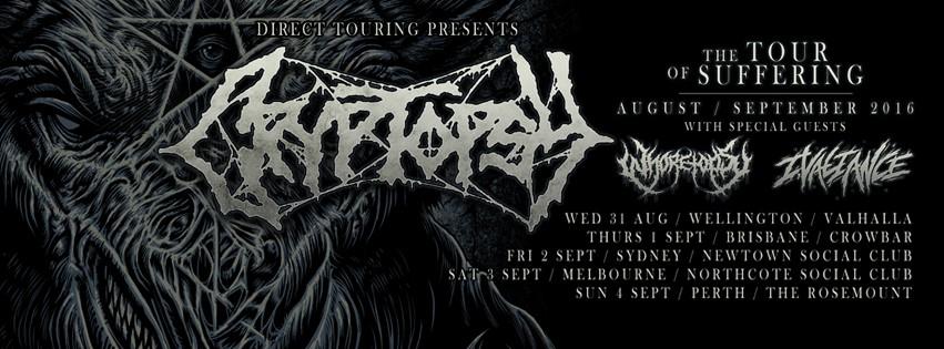 crypt tour