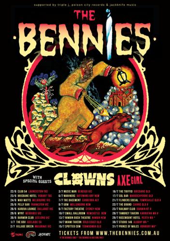 bennies tour